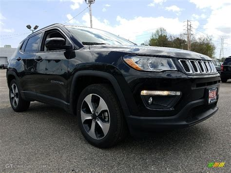 jeep compass all black 2017 2017 black jeep compass latitude 4x4 120201390 photo 9