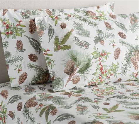 pine cone bedding set pinecone sheet set pottery barn