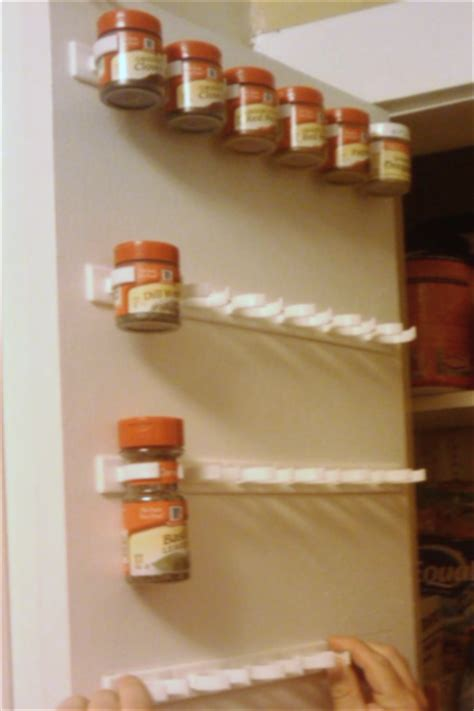 easy access spice organizer rack 40 clip storage design how to organize your spice cabinet organize your kitchen