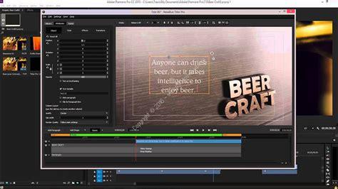 adobe premiere pro description newbluefx titler pro v4 0 160330 ce for adobe premiere pro