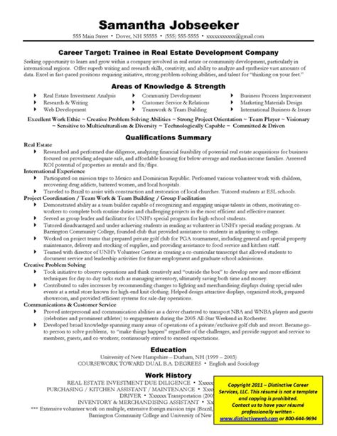 targeted resume exles how to write a targeted resume