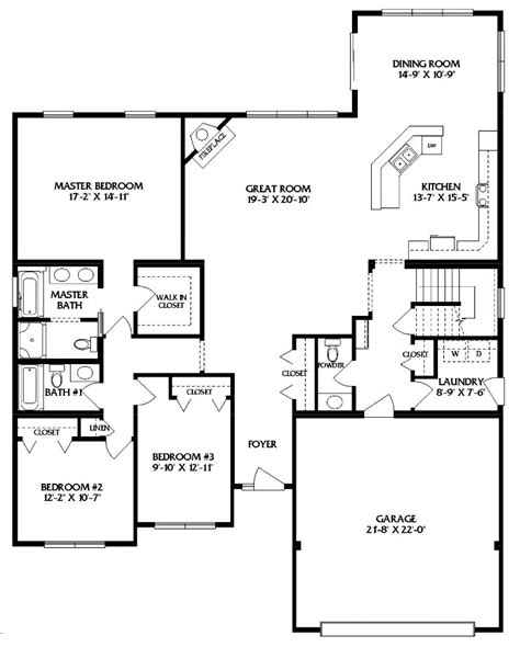 providence modular home floor plan