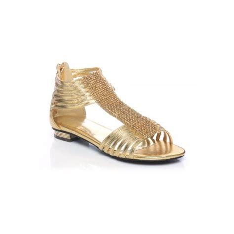 gold flat shoes uk unze sandals evening flat sandals gold