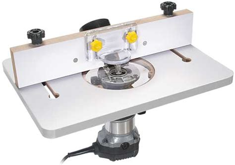 Router Table Plate by Mini Trim Router Table