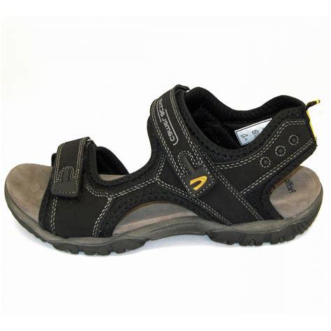 mens velcro sandals uk camel active freddi pacific in black mens sandals mozimo