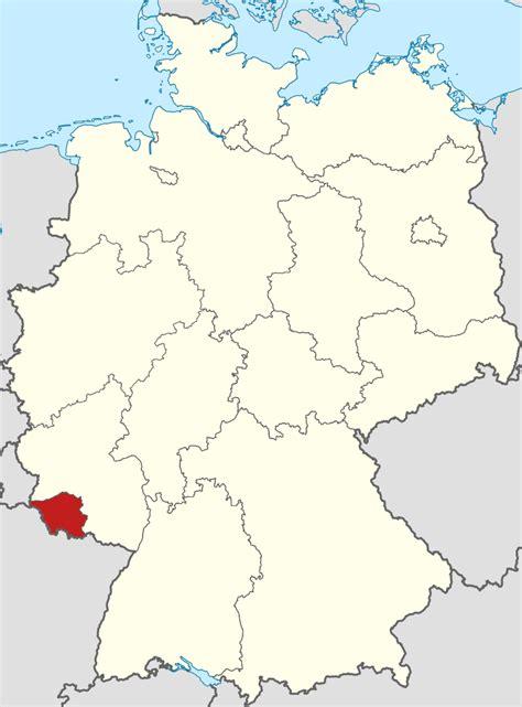 map of saarbrucken germany file locator map saarland in germany svg
