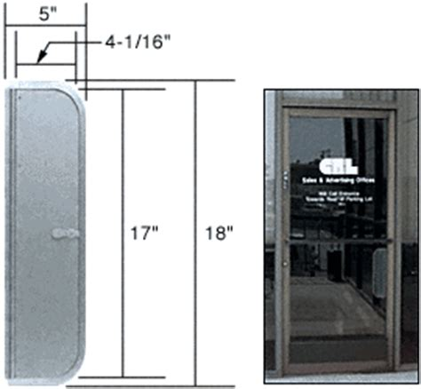 Mail Slot In Glass Door Mail Slots For Glass Barriers Or Walls A Simple Way To Pass Packages Thru Walls