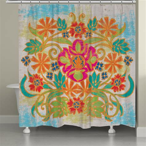 bohemian shower curtains bohemian shower curtain laural home