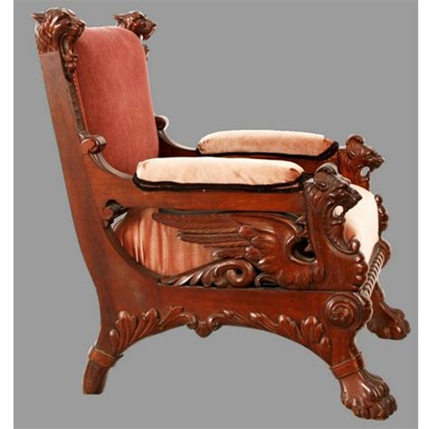 victorian armchairs for sale antique victorian mahogany armchair with carved winged griffins for sale antiques