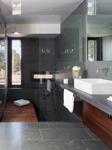 modern gray bathroom tiles ideas  pictures