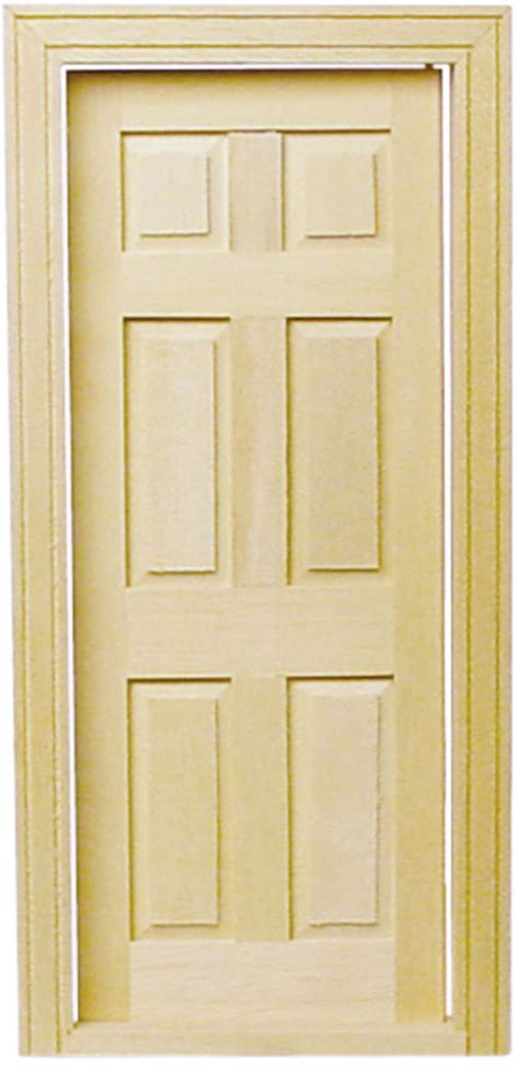 doll house door dollhouse houseworks 1 24 scale or 1 2 inch scale interior door hwh6007 ebay