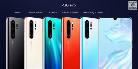 color pro huawei p30 pro p30 price list colours specifications