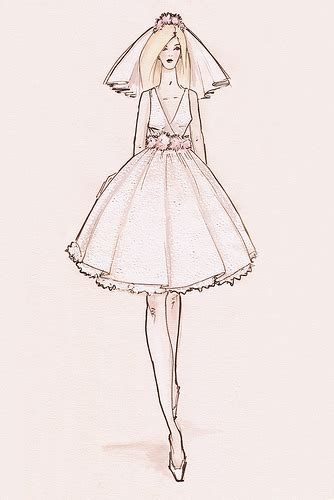 Wedding Bell Sketch by Wedding Bells Clip Sketches Brides