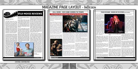 header design for magazine graphic design by joseph bonish at coroflot com