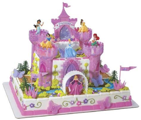 Princess Cake Decorations by Disney Princess Deluxe Castle Cake Decorating Kit