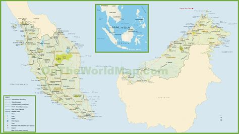 Search In Malaysia Malaysia Map Images Search