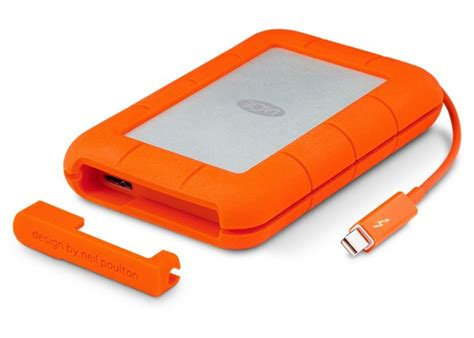 external drive rugged upgrades rugged drive with integrated thunderbolt cable mac rumors
