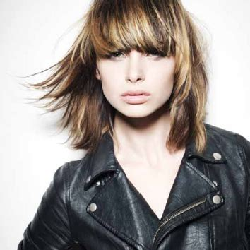 rocker shags modern rocker chic shag cut from l anza healing haircare