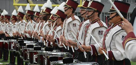 marching band sections percussion umass amherst minuteman marching band