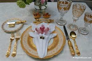 Gold Rimmed Wine Glasses Royal Wedding Place Settings For Everyday Couples