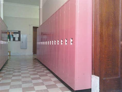 pink locker room file pink lockers at canton central catholic high school jpg