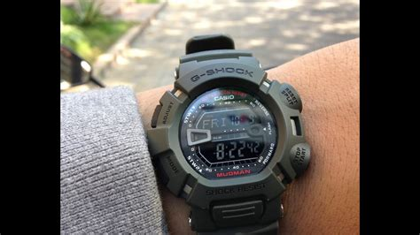 G-Shock Mudman G9000 in Daily Activities - YouTube G Shock Mudman G9000