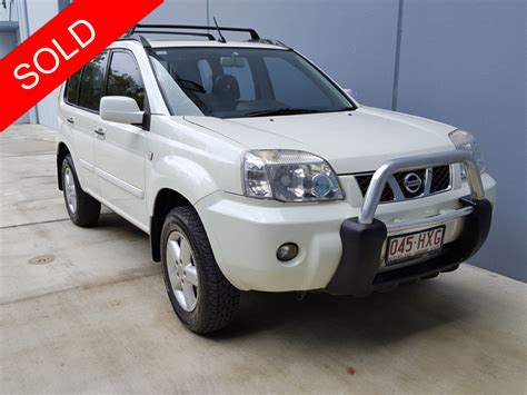 white nissan 2004 2004 nissan x trail auto white used vehicle sales