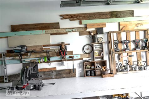 one car garage workshop salvaged workshop and craft room ideasfunky junk interiors