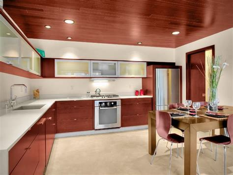 Custom Wood Kitchen Cabinets by Stylish Ceiling Designs That Can Change The Look Of Your Home
