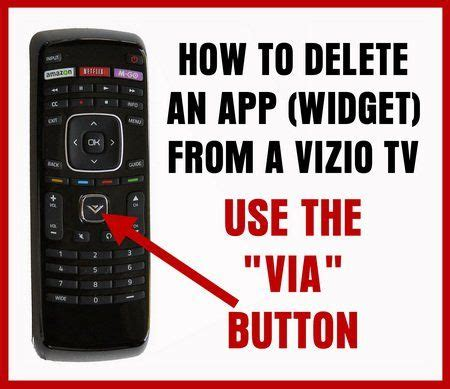 how to reset vizio tv with internet apps vizio remote how to delete app from tv use via button