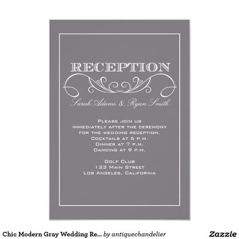 wedding reception invite sles wedding reception invitations card design ideas
