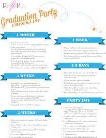 graduation checklist template graduation checklist foryourparty wedding