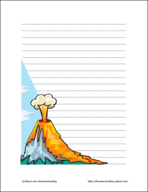 volcano writing paper 17 best images about 6th grade ch 6 volcanoes on