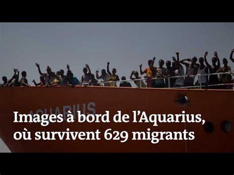 aquarius bateau youtube images 224 bord de l 171 aquarius 187 o 249 629 migrants