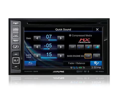 Speed Of Sound Alpine alpine ine w960a alberts car stereoalberts car stereo