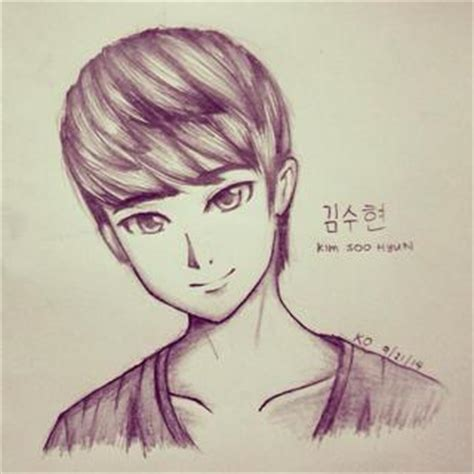 I M Drawing In Korean by Kimsoohyun Drawings On Paigeeworld Pictures Of