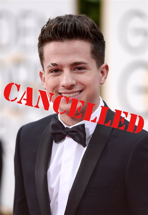 charlie puth events charlie puth concert end of year bash cancelled the
