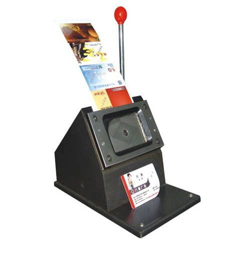 cutting machines for card namibind pvc id card cutter buy at best price in