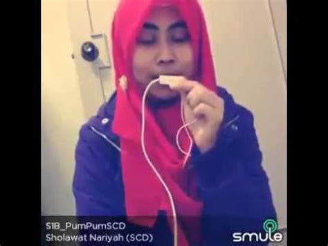 sholawat nariyah (mayada)cover by pum pum youtube