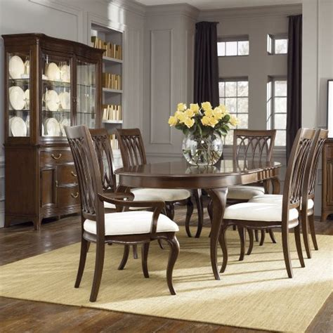 american drew dining room american drew cherry grove ng 8 dining room set in brown deals kitchen dining