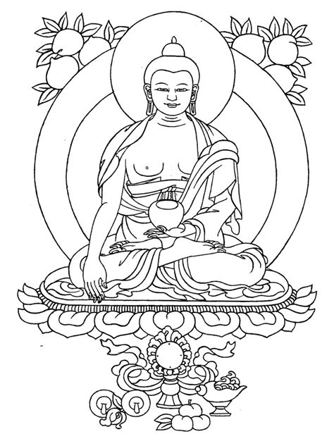 pin buddhism printable coloring pages on pinterest