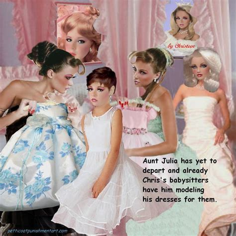 baby petticoat punishment chris christeen forced feminization pinterest lelu