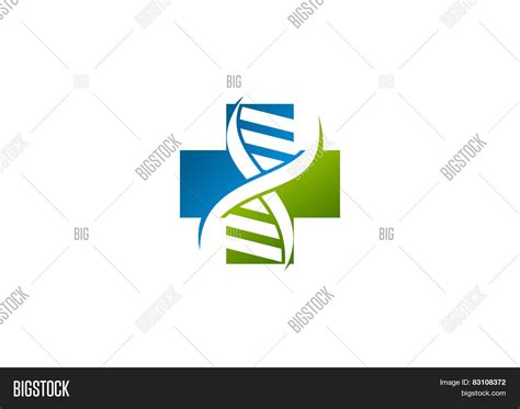 logo graphics dna cross pharmacy dna logo vector photo bigstock