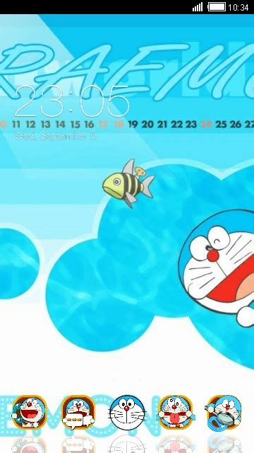 themes facebook doraemon download doraemon theme for your android phone clauncher