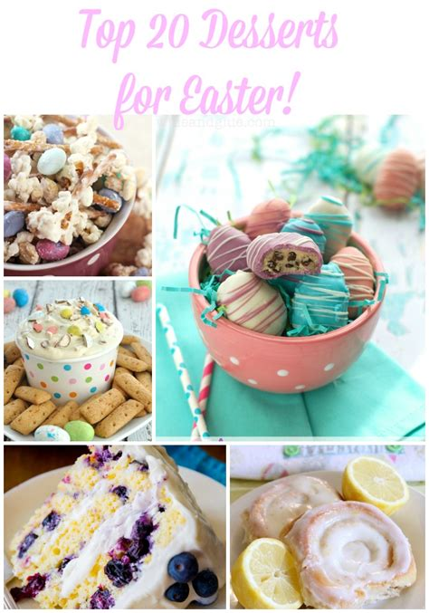 top 20 desserts for easter without answers