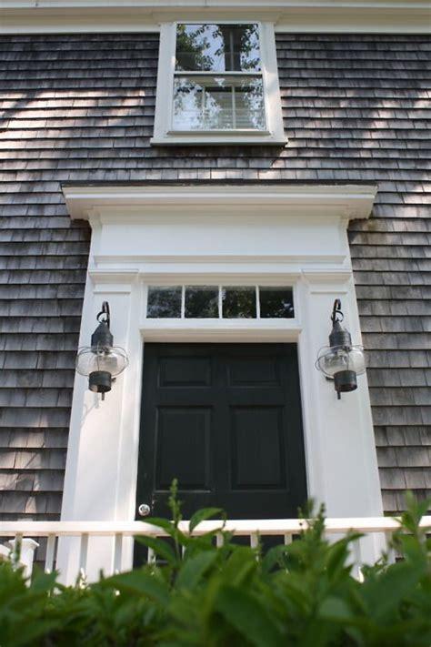 Cape Cod Style The House That A M Built Cape Cod Front Doors