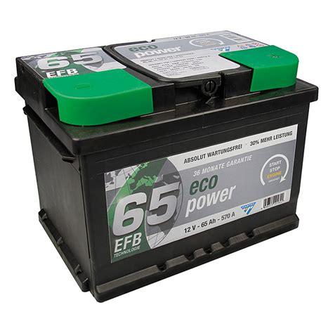 Auto Batterien by Cartec Autobatterie 65 Ah Spannung 12 V Bauhaus