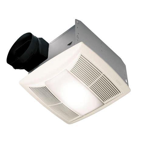 nutone qt series quiet  cfm ceiling exhaust fan  light  night light energy star