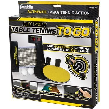 table tennis to go buy franklin electronic table tennis to go at well ca