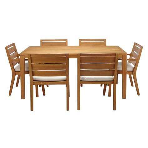 6 seat dining table and chairs lewis alta 6 seat garden dining table chairs set